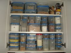 my kitchen cupboards.I LOVE Tupperware Modular Mates