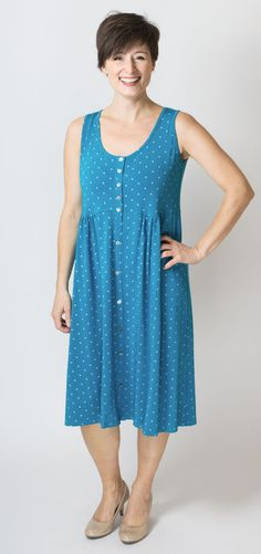 This dress looks so comfy! 95% Bamboo - Blue Sky Clothing Co