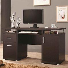 Coaster Home Furnishings 800107 Contemporary Computer Desk, Cappuccino Coaster Home Furnishings http://www.amazon.com/dp/B00FPGXFU6/ref=cm_sw_r_pi_dp_KuGNwb0EWTBMF