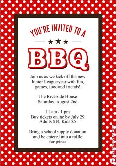bbq printable bbq party invitation template best free home design idea inspiration
