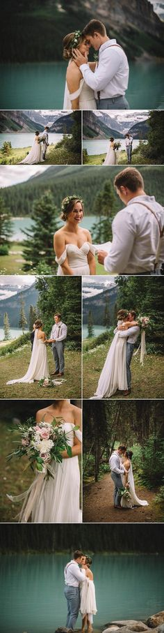 Lake Louise elopement captured by The Toths Photo & Film