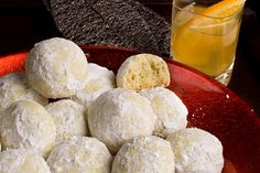 Pistachio Mexican Wedding Cakes (cookies)