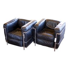Le Corbusier Grand Comfort Chairs from France