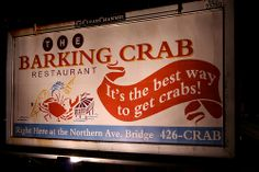 I never got a chance to eat there because it was packed when we tried to go. I guess it's a popular place to eat, even if you can easily get crabs there.   Funny - Hilarious Signs & Billboards