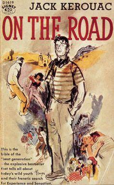 On the Road. Jack Kerouac (please follow minkshmink on pinterest)