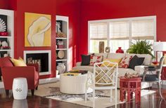 Bold color room makeover | Midwest Living