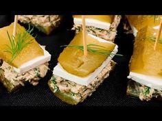 Aperitiv cu castraveți murați, brânză și ton - YouTube Nachos, Youtube, Tortilla Chips, Youtubers, Youtube Movies