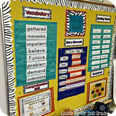 Focus Walls are a display to use in your classroom to show the skills you are currently focusing on. They are to be used as tools in your… First Grade Classroom, Classroom Setting, School Classroom, Classroom Decor, Future Classroom, Classroom Signs, Primary Classroom, Classroom Displays, Kindergarten Classroom