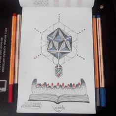Dotwork... Geometric style