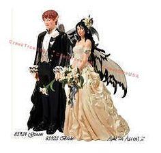 Nene Thomas Bride Groom Fantasy Couture Fairy Figures