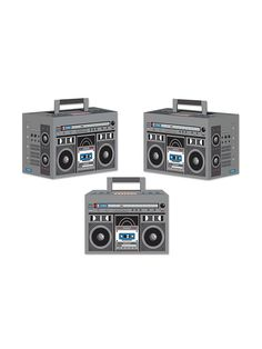 Boom Box Favor Boxes | Party Supplies and Favor Bags & Boxes for Celebrations