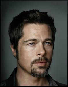 Brad Pitt by Dan Winters.