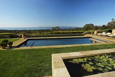 A koi/lilly pond, in-ground pool, and views of the pacific. Montecito, CA Coldwell Banker Residential Brokerage Coldwell Banker Residential Brokerage