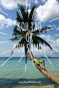 Let me help you to choose either Koh Tao or Koh Samui. In this article I tell you the difference between the two islands. It is not a Koh Tao vs Koh Samui battle, as they are too different. The best thing to do is to visit them both!