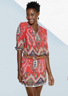Extended Length Kimi Paisley Embellished Dress - View All Dresses - Dresses - Clothing - Alloy Apparel
