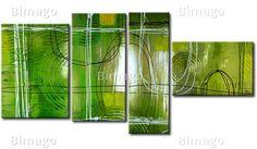 Cuadro decorativo Luz verde