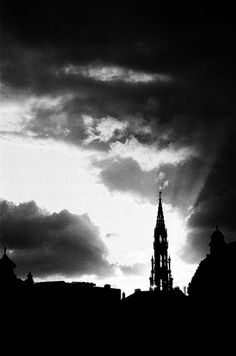 """View from the """"Mont des arts"""" Brussels"""