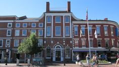 Portsmouth Athenæum Portsmouth, New Hampshire 1805  Architect: Bradbury Johnson