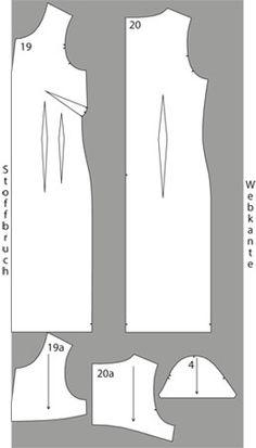 Free dress pattern - Schnittmuster: Business-Kleid nähen - eine Anleitung - BRIGITTE
