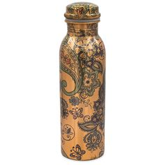 Ayurveda, Bratislava, New Product, Paisley, Water Bottle, India, Motifs, Copper, Glass Canisters