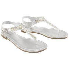 Target : Womens Xhilaration® Tennie Jeweled Flat Sandal - Assorted Colors : Image Zoom