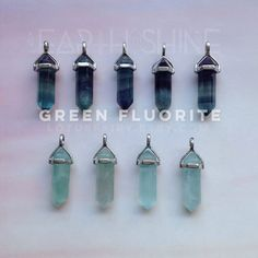 Fluorite: Harmony, Balance, Order to Chaos, Prepares one for meditation…