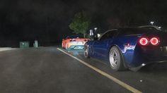 Monster Corvette Z06 vs +750hp CTS-V