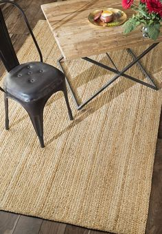 Handmade Braided Jute Rug by DECORmyHOME on Etsy