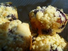 Farmer's Market Blueberry Muffins | Home Baked