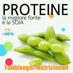 La soia è una proteina vegetale completa di alta qualità che contiene tutti gli aminoacidi essenziali. @capirelanutrizione