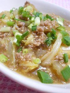 ◆とろっとろ 麻婆白菜◆お家にあるもので簡単に♡素を使わなくてもそれなりにきちんと麻婆になるものです