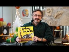 Turkey Trouble read by Marc Maron, written by Wendi Silvano and illustrated by Lee Harper. Turkey is in trouble. The kind of trouble where it's . Clark The Shark, Turkey Trouble, Storyline Online, Marc Maron, Wiggles Birthday, Thanksgiving Activities, Thanksgiving Books, First Grade Activities, Basketball Quotes