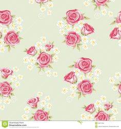 Rose Pattern 3 - Download From Over 64 Million High Quality Stock Photos, Images, Vectors. Sign up for FREE today. Image: 32877064