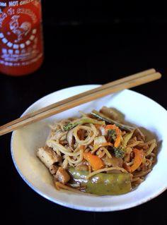 Meatless Monday: Veggie Yakiudon
