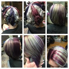 Pinwheel hair #pinwheel #beautybyalexis