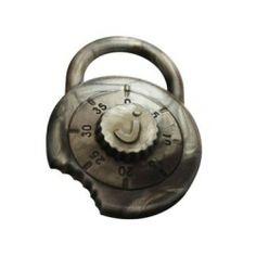 JellyStone Designs Padlock Keychain Teether - Stainless Steel