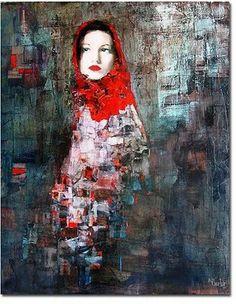Richard Burlet / To Klimt Figure Painting, Painting & Drawing, Richard Burlet, L'art Du Portrait, Kunst Online, Art Moderne, Art Graphique, Beautiful Paintings, Figurative Art