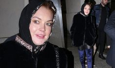 Lindsay Lohan sports headscarf after Islamic conversion claims -    Members of the Muslim faith welcomed her to Islam last week after she deleted her Instagram pictures and left an Arabic message of peace in her bio... See more at https://www.icetrend.com/lindsay-lohan-sports-headscarf-after-islamic-conversion-claims/