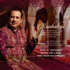 RAAHATEIN at TAJ FALAKNUMA PALACE Art Director: Sajan Simon Designer: Sandeep Copy Writing: Shabana.Galaria Client: Lakshya Events & Talent Mgmt Pvt Ltd