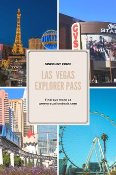 There are so many things to do in Las Vegas. How do you do a lot of fun activities without spending too much money? One way to keep a trip under your travel budget is with the Las Vegas Explorer Pass. This sightseeing pass gets you admission to so many attractions, like the Big Bus Las Vegas Hop-On Hop-Off Day Tour, the monorail, High Roller Observation Wheel at the LINQ, Madame Tussauds, Big Apple Roller Coaster, Stratosphere Observation Deck Plus VIP Access & more. Learn how to get a discount. Las Vegas Restaurants, Las Vegas Hotels, Las Vegas Vacation, Vacation Spots, Madame Tussauds, Day Tours, Budget Travel, Fun Activities, High Roller