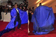Who doesn't love Andre Leon Talley and his collection of luxury tents?