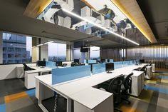 Unosquare Office Interiors | LVS-Architecture; Photo: Lorena Daquea | Archinect