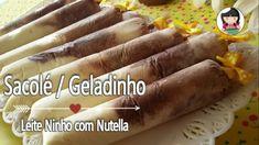 Sacolé Geladinho ChupChup | Leite Ninho com Nutella | Dika da Naka