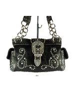 Concealed Carry Handbag Gun Purse / CCW Montana West Rhinestone Paisley - Black  $74.99 + Free Shipping! wantedwardrobe.com wantedwardrobe.net #CCW #fashion #handbags