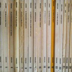 i #libri di quand'ero ragazzo #einaudi #nostalgia