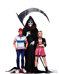 All Grown Up: The Grim Adventures of Billy and Mandy by Isaiah Stephens