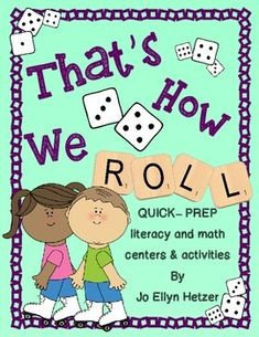 Sometimes I just want easy-to-prepare centers and stations for my students so I can move onto other things.  The centers  have to be fun and reallyreally help the kids develop skills.  I also need several different levels so that students can use the predictable activities throughout the year {I dont want to keep teaching center procedures over and over again!} I also want to easily differentiate for learning need THATS HOW I ROLL!