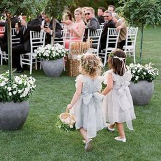 A Casual, Outdoor Wedding in Palm Springs with a Black-Tie Dress Code Black Tie Wedding, Elegant Wedding, Dream Wedding, Wedding Stuff, Girls With Flowers, Flower Girls, Flower Crowns, Wedding Bells, Wedding Flowers