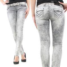 Jetzt NEU bei uns im Webshop:  www.stylefabrik-fashion.de/Cipo-Baxx-Damen-Jeans-C46006-Slim-Fit-Used-Look-hellgrau-C46006?fb=1  Stylische Cipo & Baxx Damenjeans CBW-46006 grau