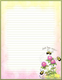 bee's on flowers